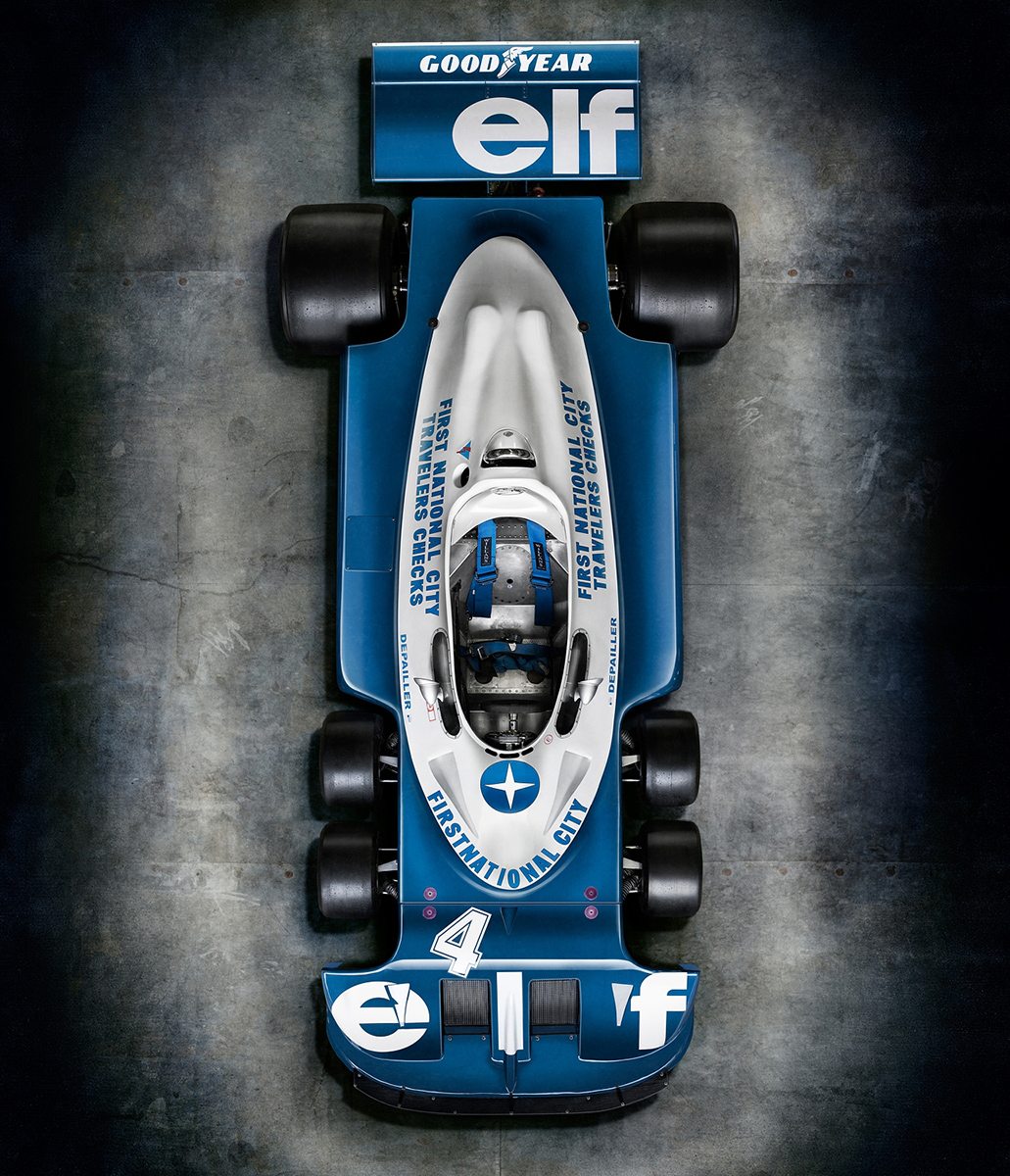 Formula 1 Race Car Commercial Photography campaign