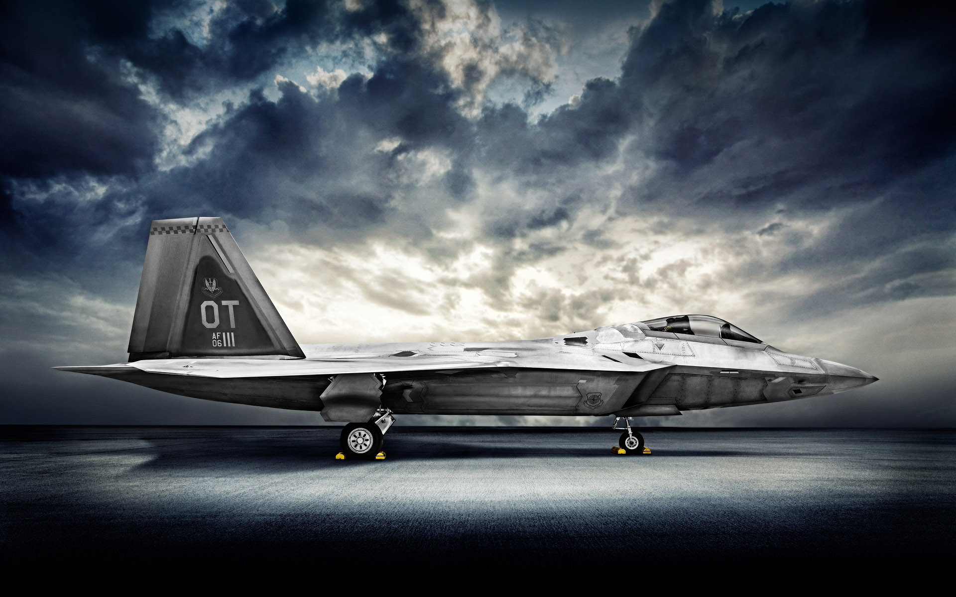 Airplane Photoshoot F22 Raptor