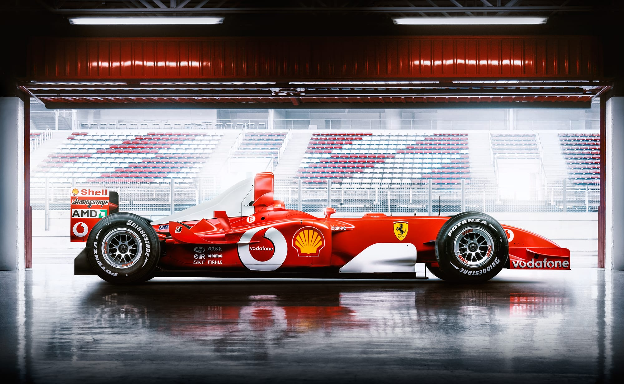 Michael Schumacher photographed by Automotive Photographer